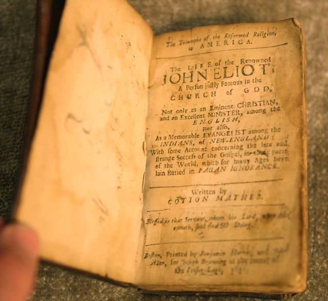 John Cotton Books: PRINTED 1691. Earliest Extant Evidence Of American Mother