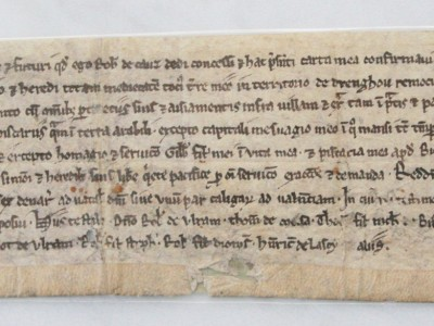VALUE OF A 14th CENTURY MEDIEVAL MANUSCRIPT